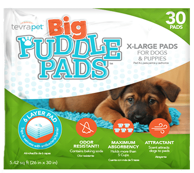 big puddle pads product bag