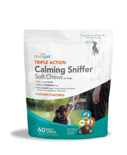 calming sniffer product bag