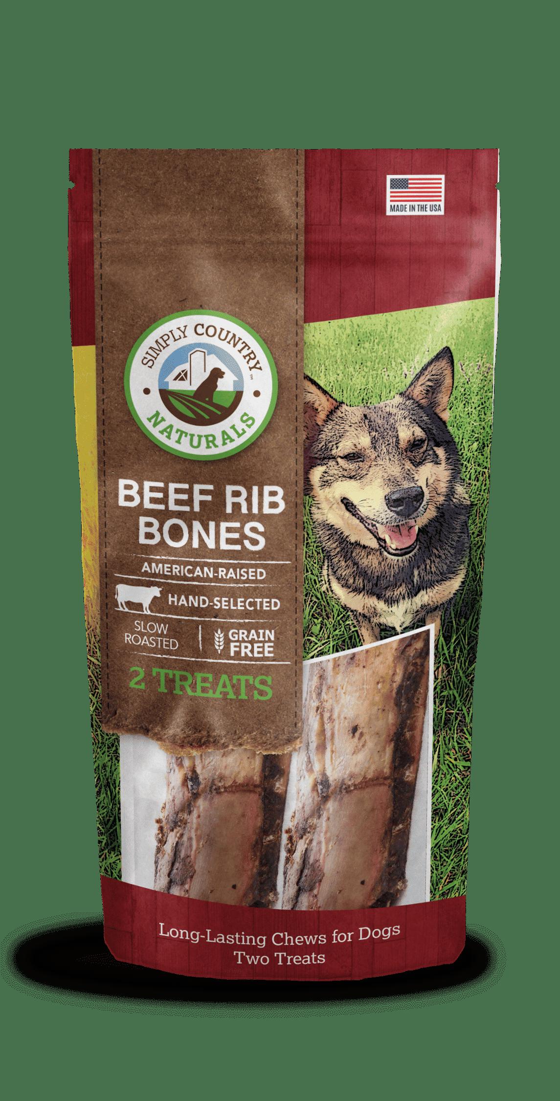 Simply Country Beef Rib Bones Tevra Pet