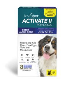 Activate II Flea and Tick Prevention