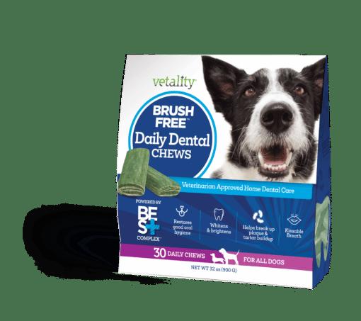 Brush Free daily dental chews